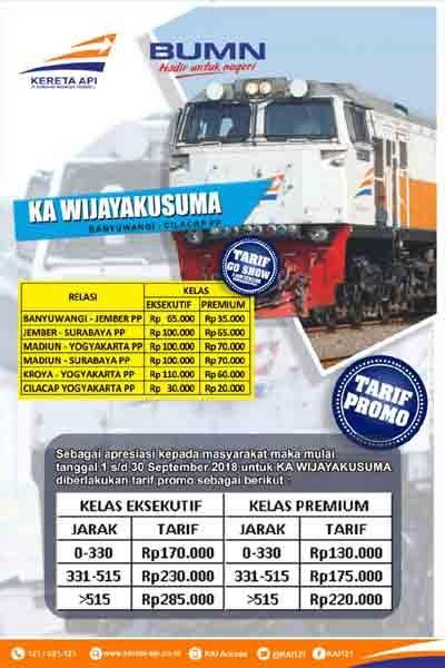 Rute Jadwal Dan Tiket New Wijaya Kusuma Banyuwangi Cilacap September