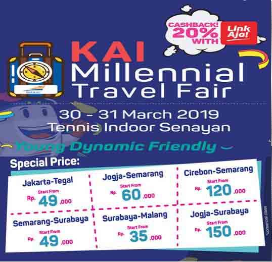Tiket Ka Promo Terbaru Kai Millenial Travel Fair Tours By Rail